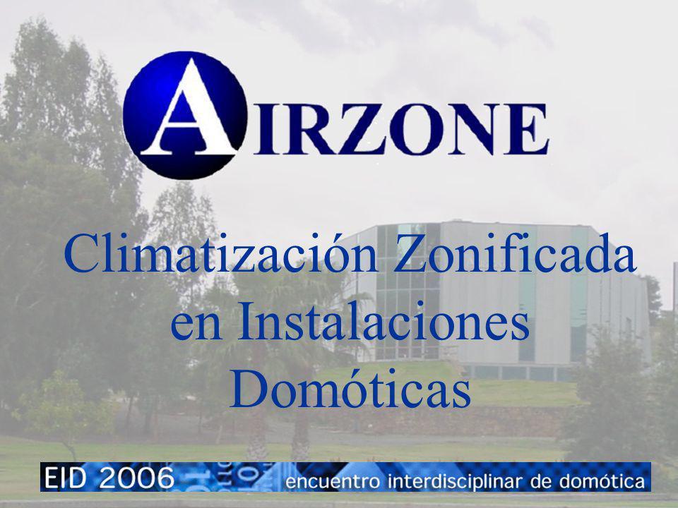 Climatización Zonificada en Instalaciones Domóticas