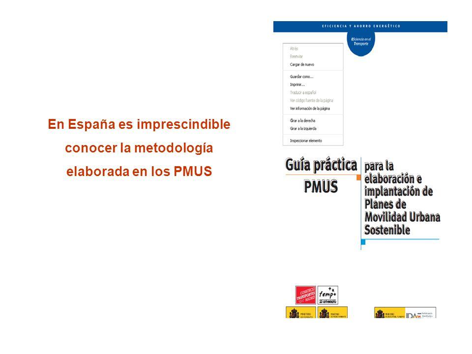 En España es imprescindible conocer la metodología