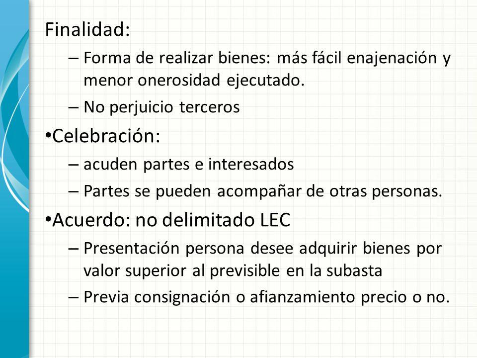 Acuerdo: no delimitado LEC