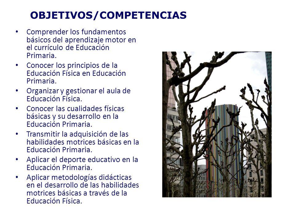 OBJETIVOS/COMPETENCIAS