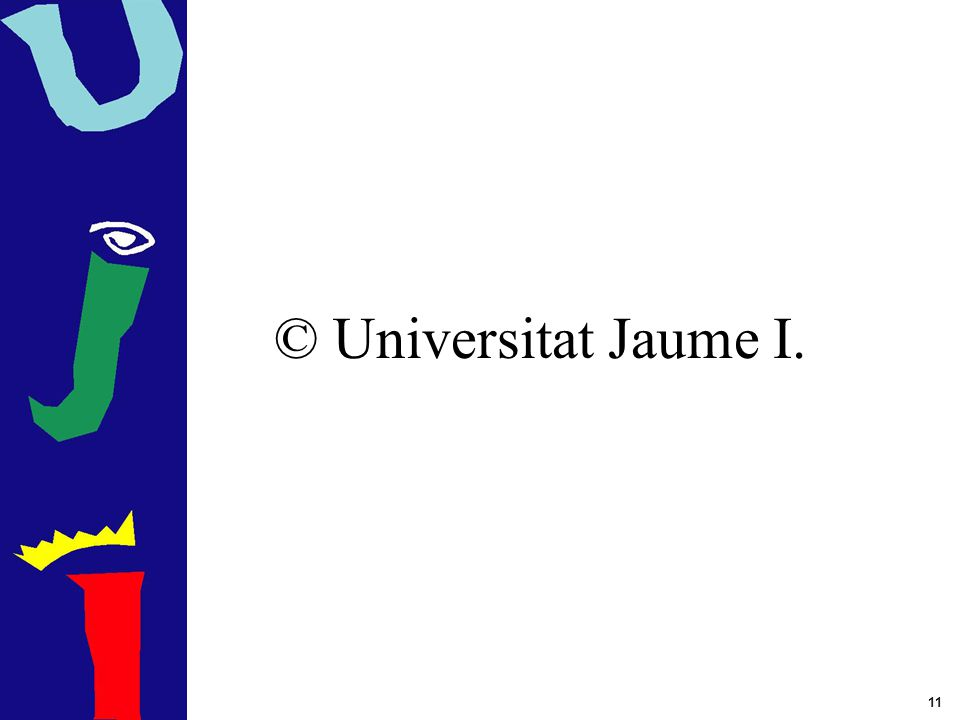 © Universitat Jaume I.