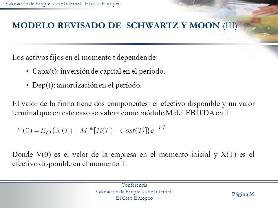 MODELO REVISADO DE SCHWARTZ Y MOON (III)