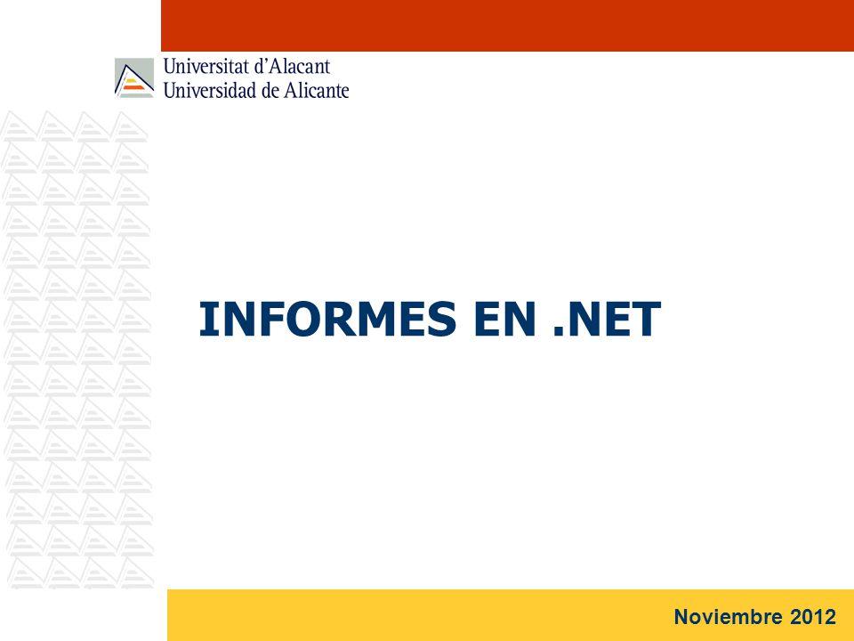 INFORMES EN .NET Noviembre 2012