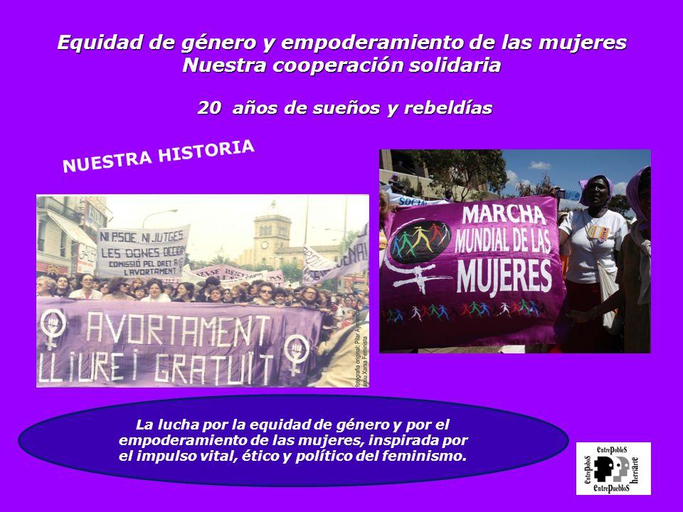 el impulso vital, ético y político del feminismo.