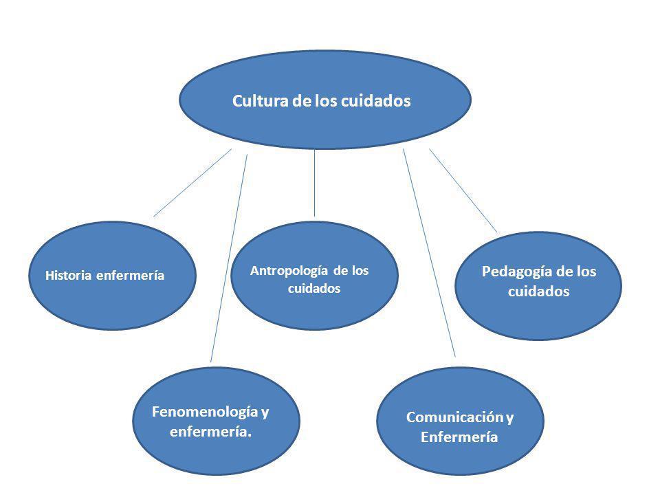 Fenomenología y enfermería. Comunicación y Enfermería