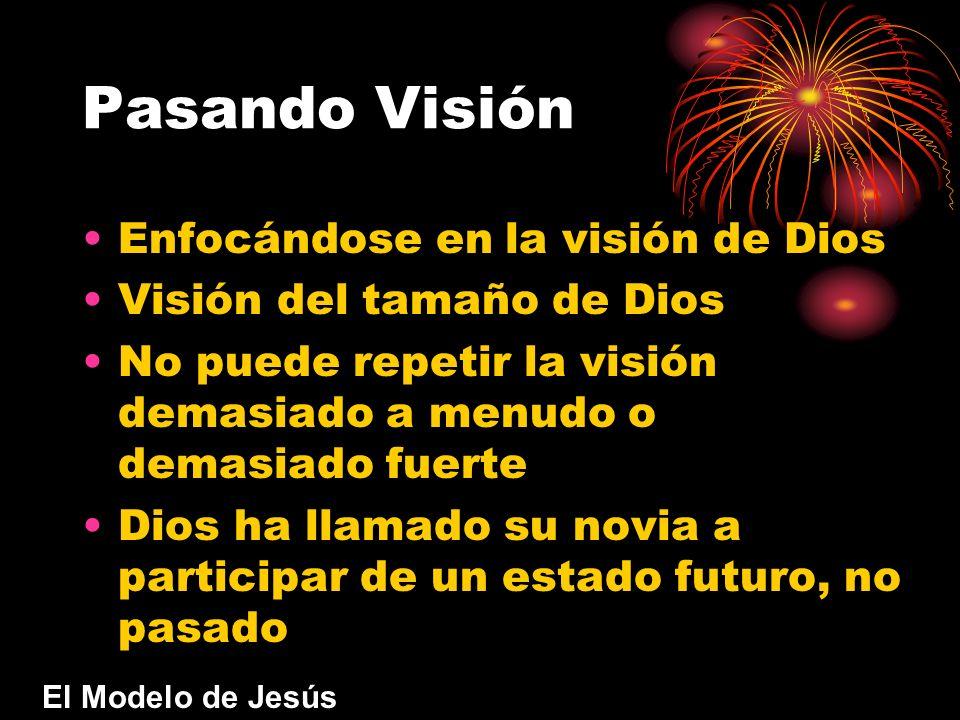 Pasando Visión Enfocándose en la visión de Dios