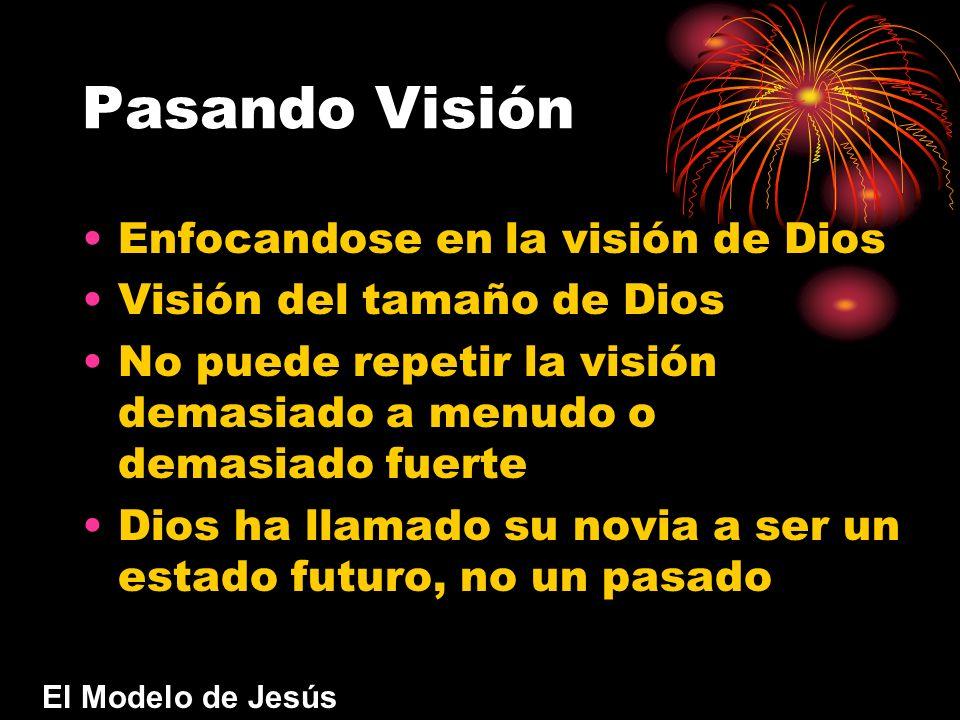 Pasando Visión Enfocandose en la visión de Dios