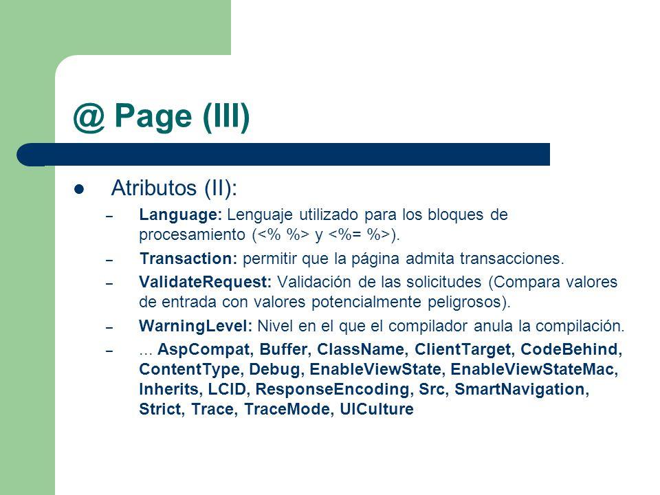 @ Page (III) Atributos (II):