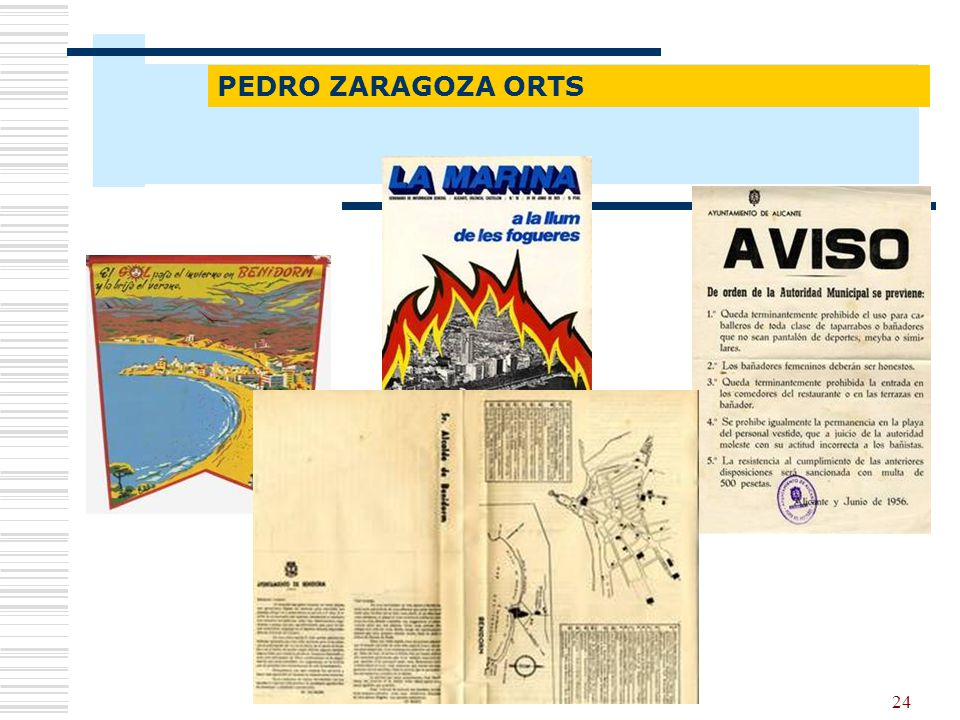 Fondos documentales PEDRO ZARAGOZA ORTS