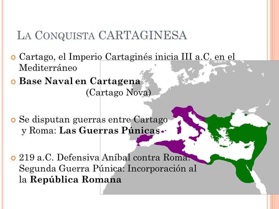 La Conquista CARTAGINESA