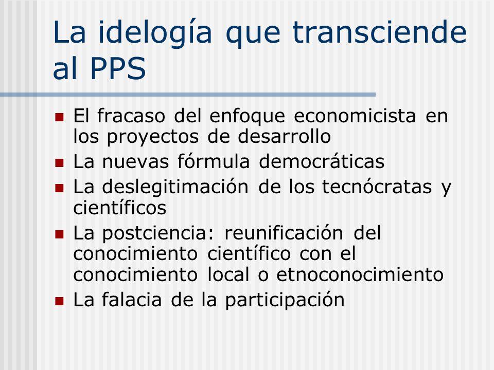 La idelogía que transciende al PPS