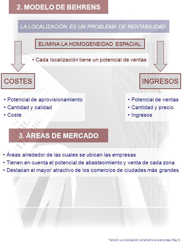 ELIMINA LA HOMOGENEIDAD ESPACIAL