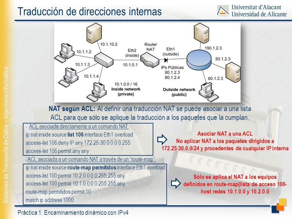 Traducción de direcciones internas