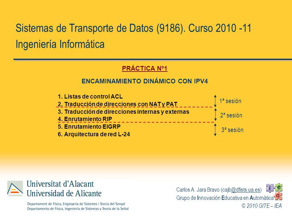 ENCAMINAMIENTO DINÁMICO CON IPV4