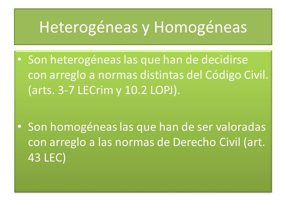 Heterogéneas y Homogéneas