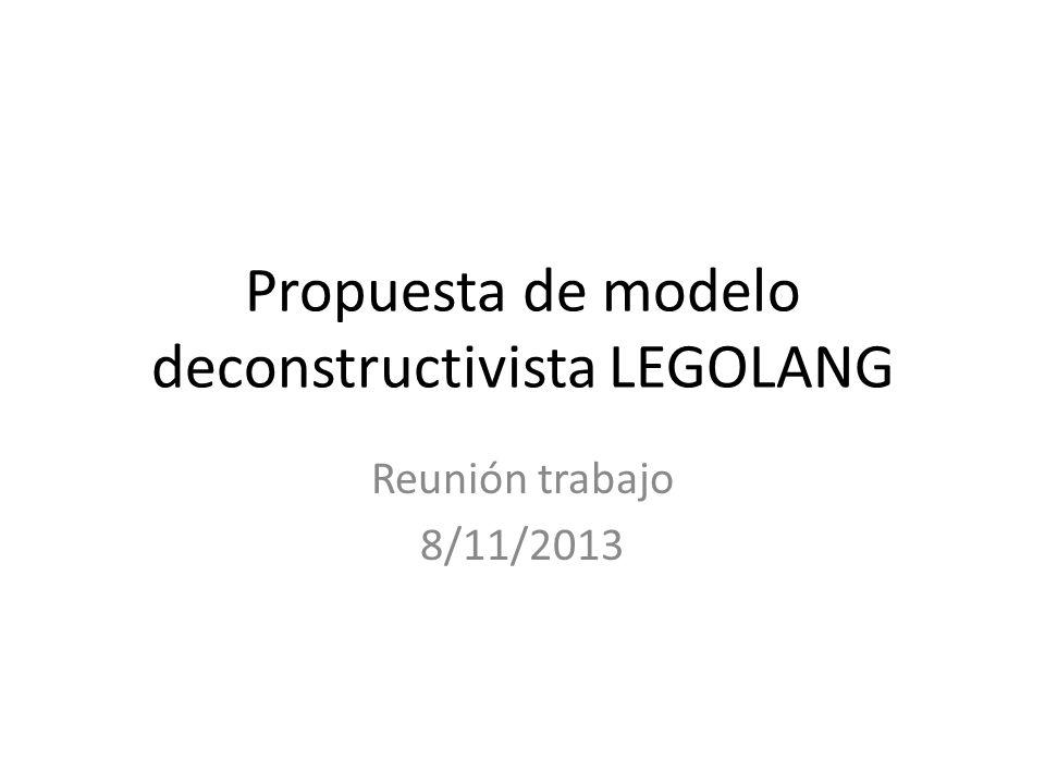 Propuesta de modelo deconstructivista LEGOLANG