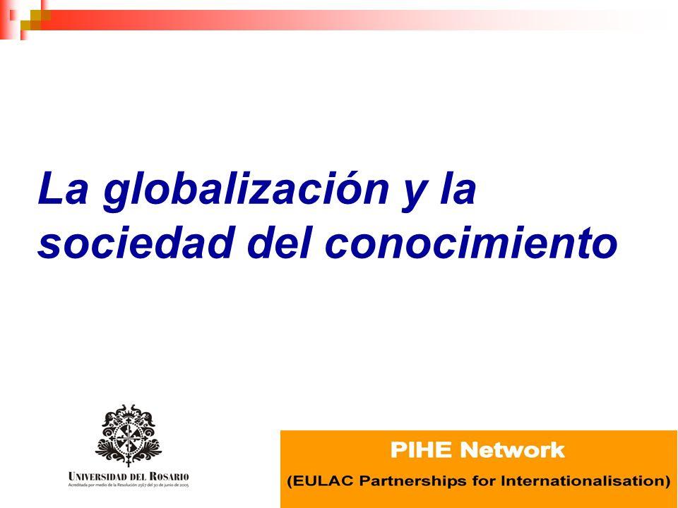 La globalización y la sociedad del conocimiento