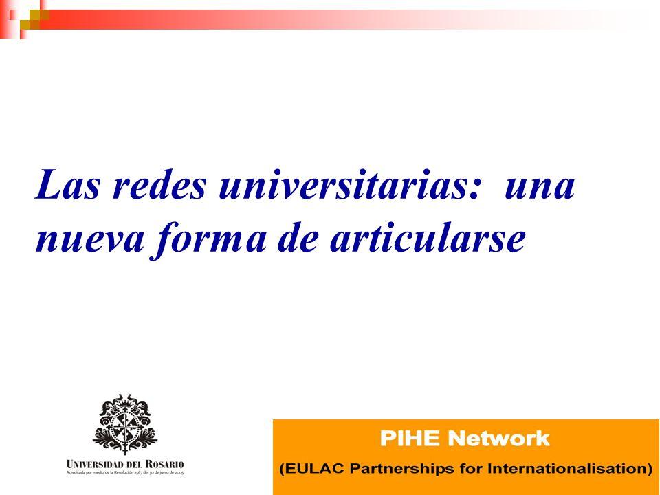 Las redes universitarias: una nueva forma de articularse
