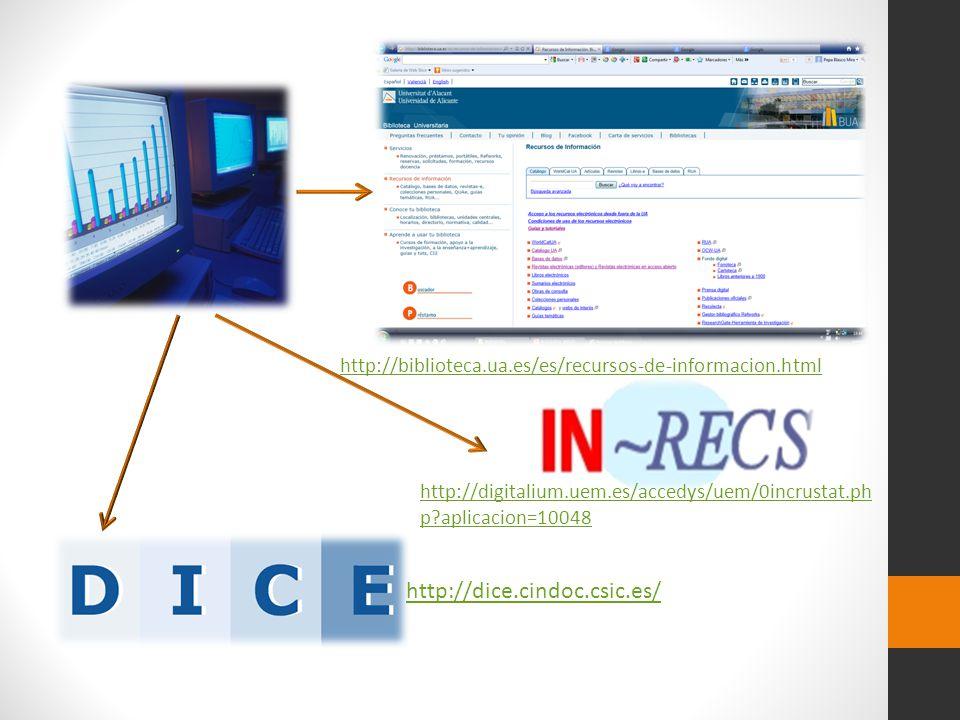 http://biblioteca.ua.es/es/recursos-de-informacion.html http://digitalium.uem.es/accedys/uem/0incrustat.php aplicacion=10048.