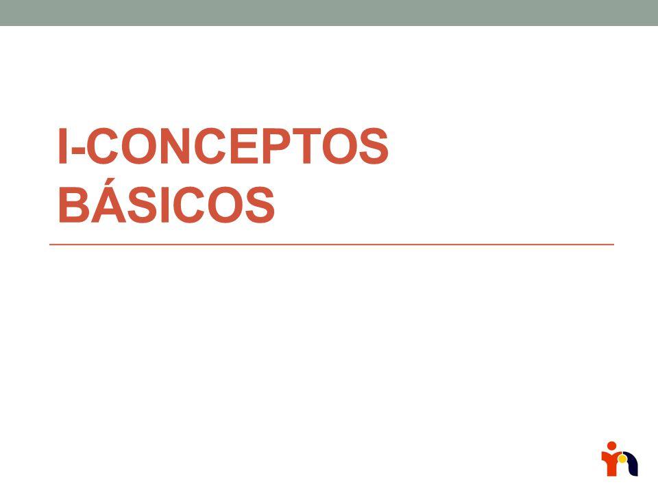 I-Conceptos básicos