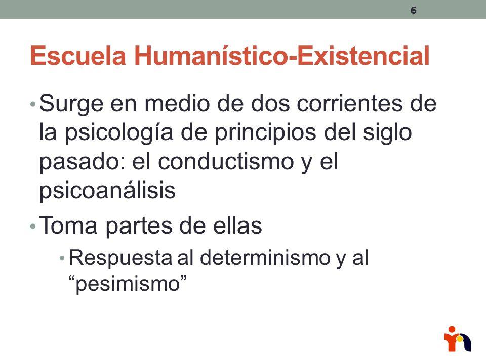 Escuela Humanístico-Existencial