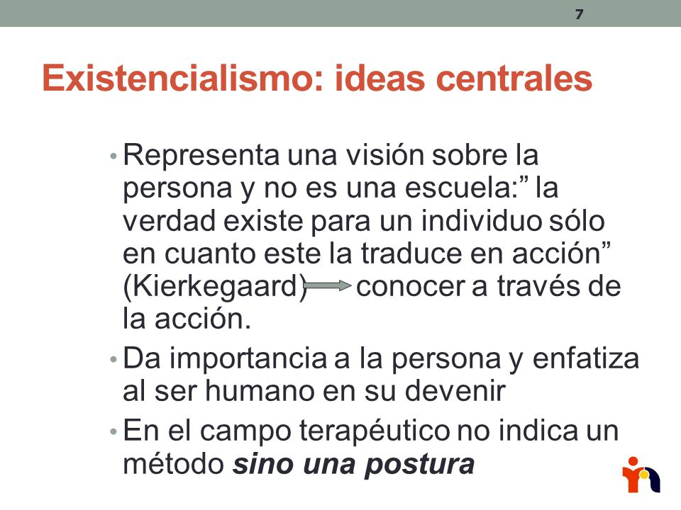 Existencialismo: ideas centrales