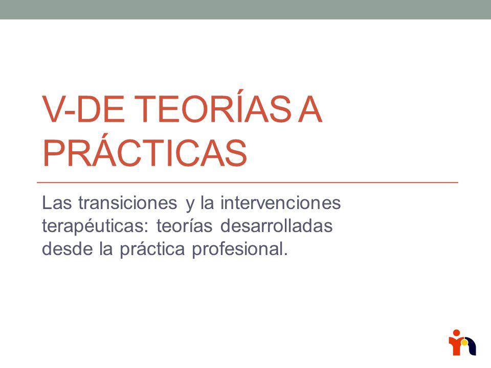 V-De Teorías a Prácticas