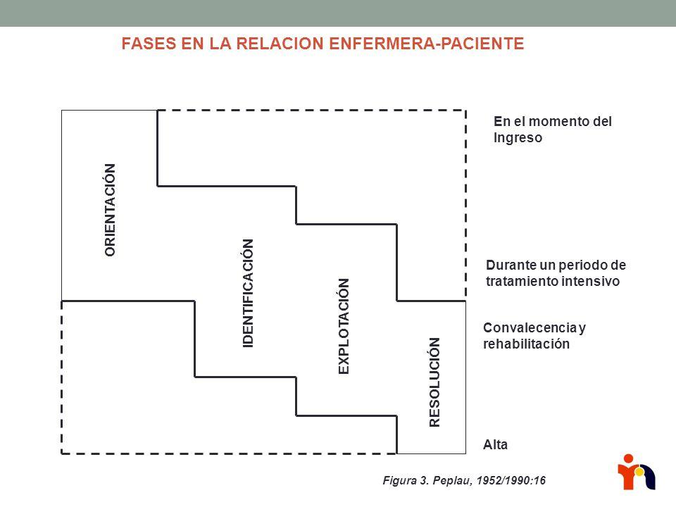 FASES EN LA RELACION ENFERMERA-PACIENTE