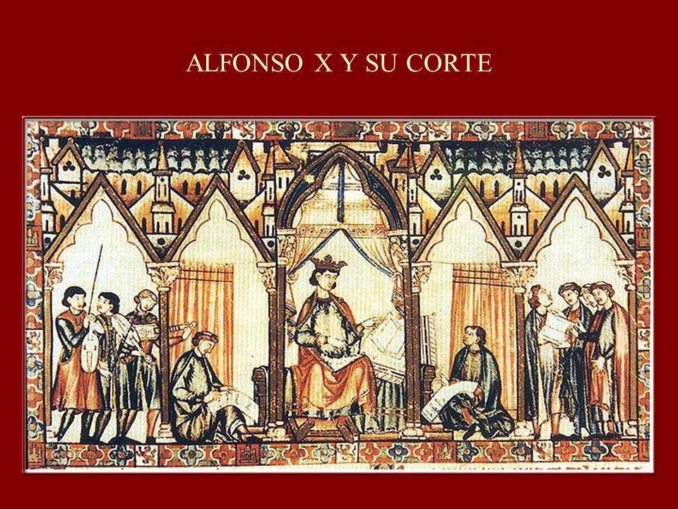 ALFONSO X Y SU CORTE