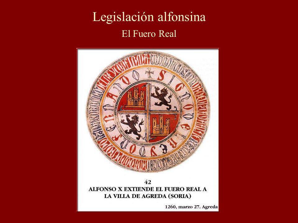 Legislación alfonsina