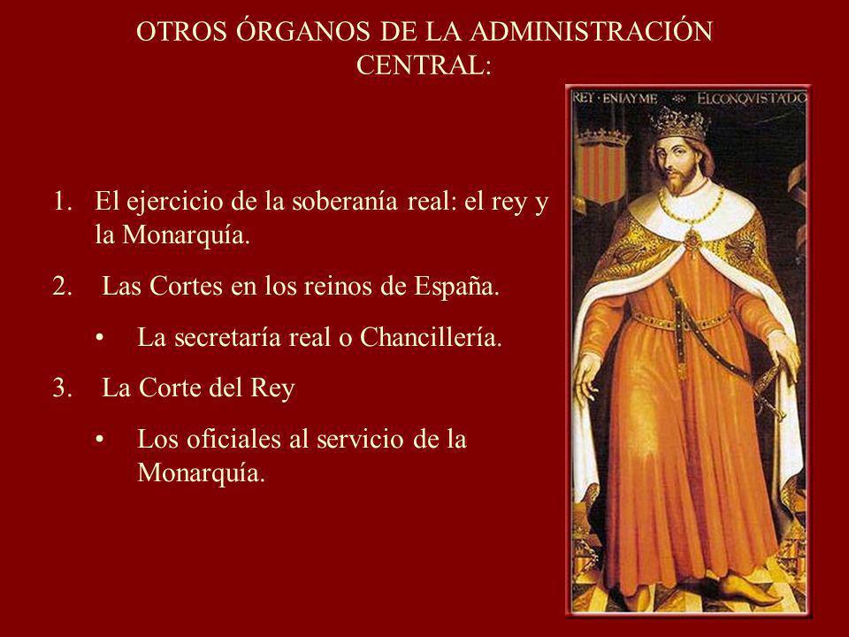 OTROS ÓRGANOS DE LA ADMINISTRACIÓN CENTRAL: