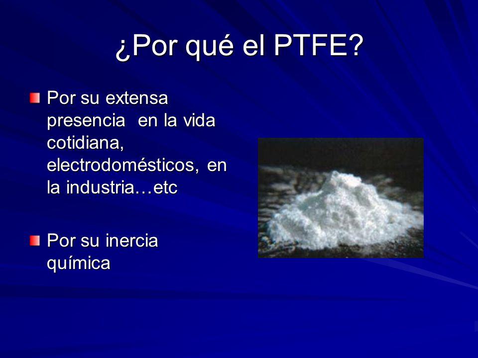 ¿Por qué el PTFE Por su extensa presencia en la vida cotidiana, electrodomésticos, en la industria…etc.
