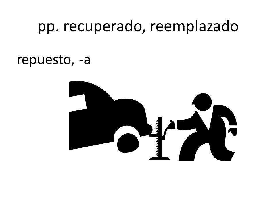 pp. recuperado, reemplazado