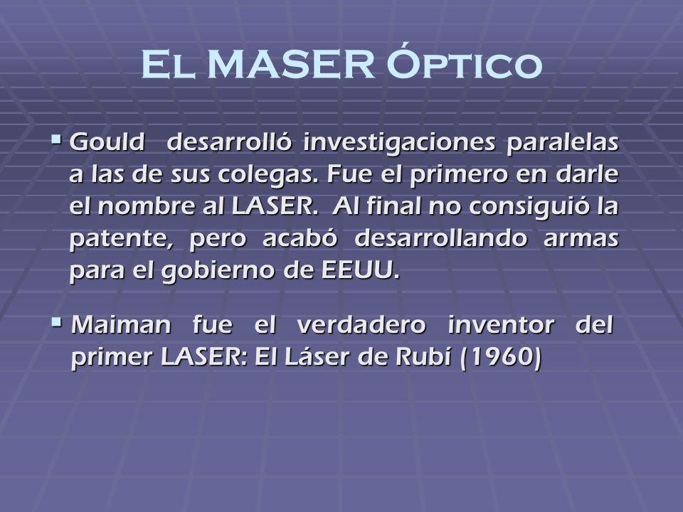 El MASER Óptico