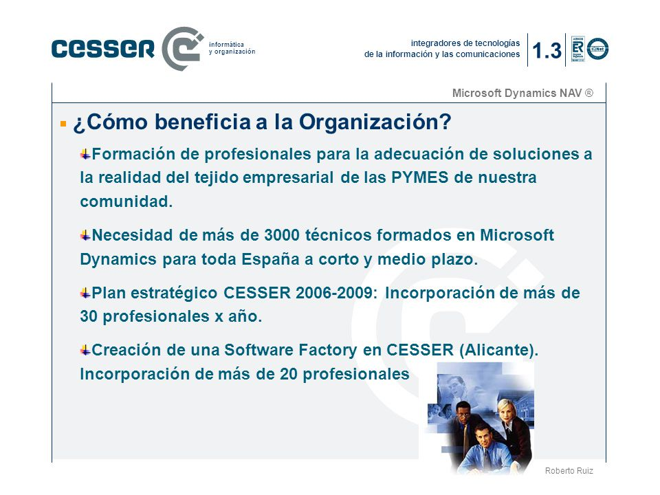 ¿Cómo beneficia a la Organización