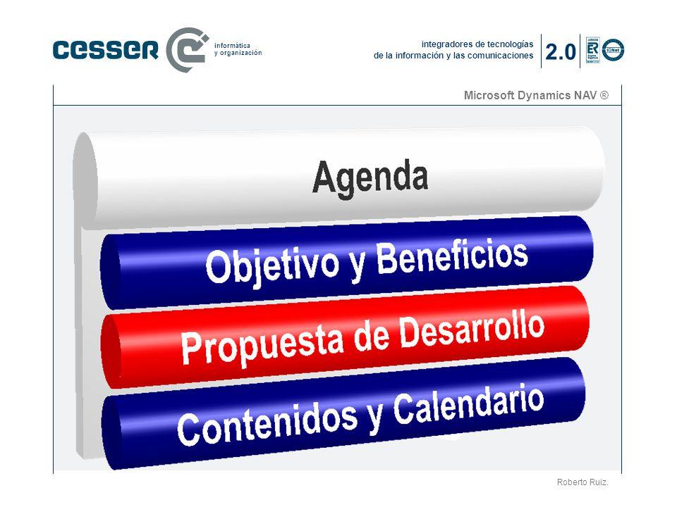 2.0 Microsoft Dynamics NAV ® La compañía (2) Roberto Ruiz.
