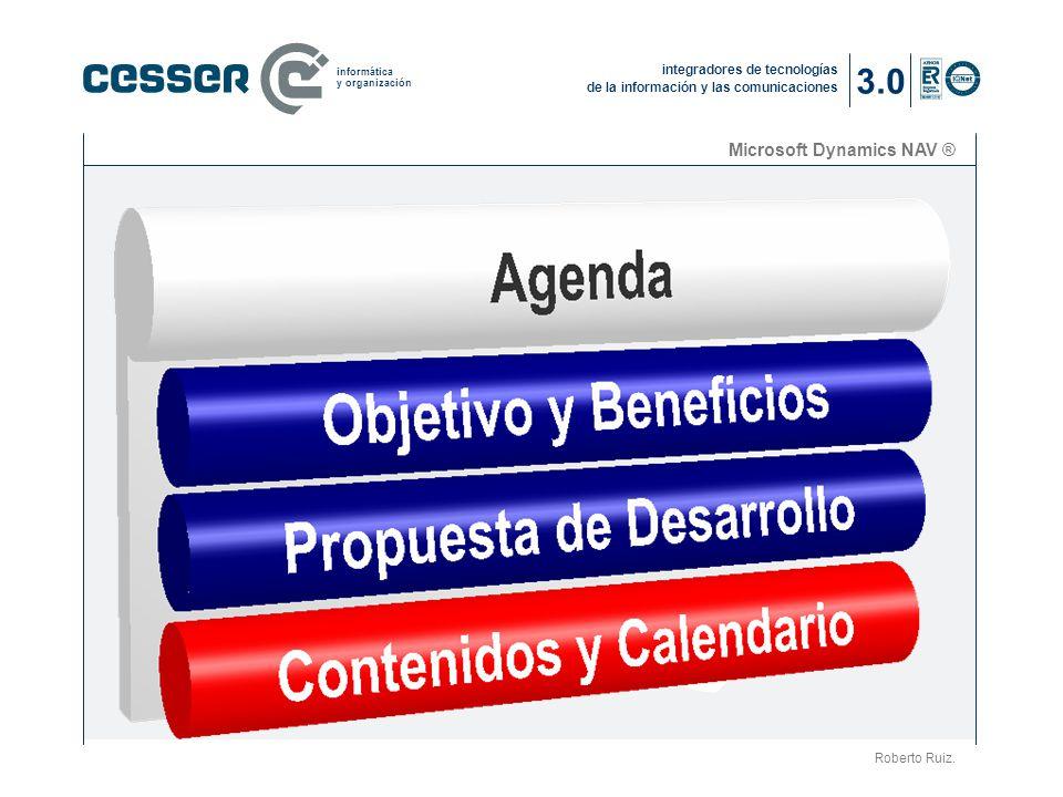 3.0 Microsoft Dynamics NAV ® La compañía (2) Roberto Ruiz.