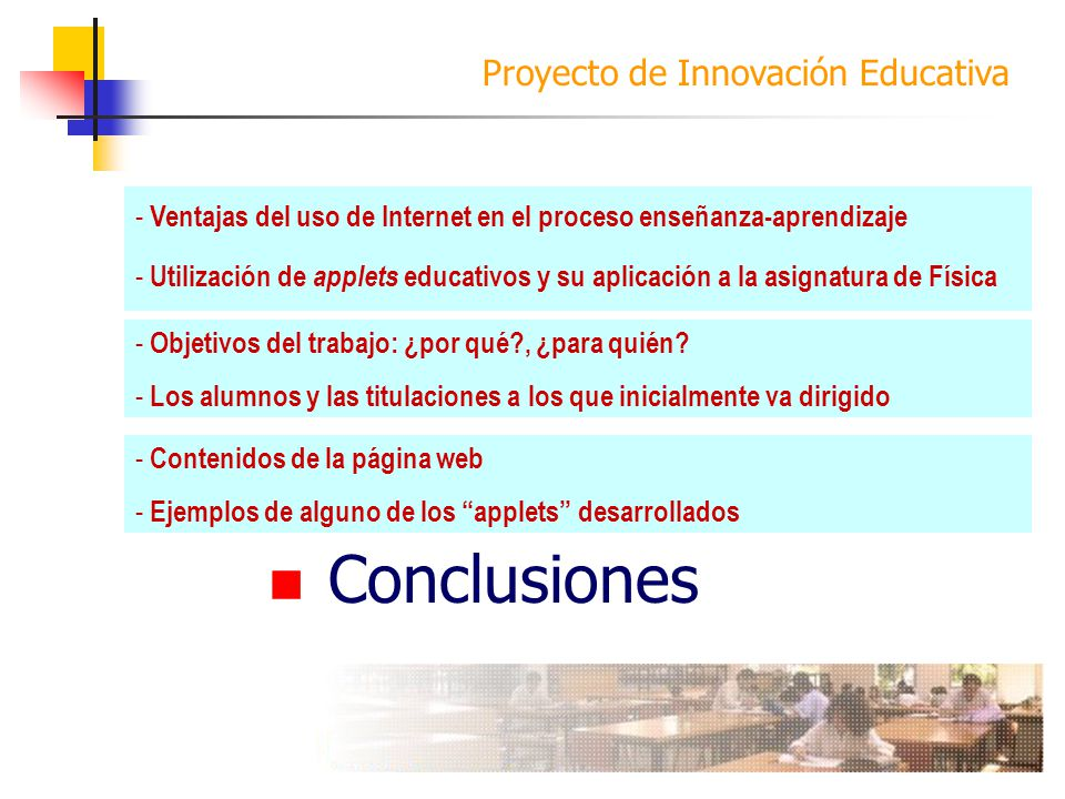Introducción Objetivos Desarrollo Conclusiones