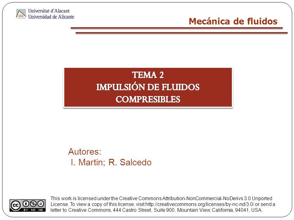 IMPULSIÓN DE FLUIDOS COMPRESIBLES