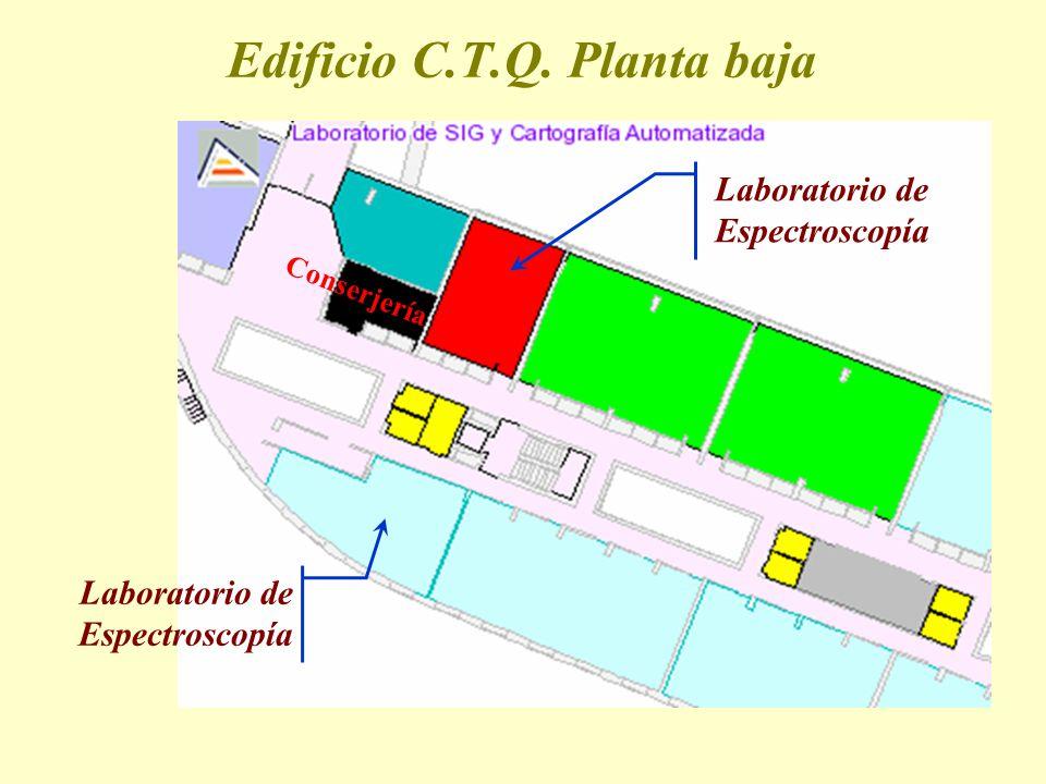 Edificio C.T.Q. Planta baja