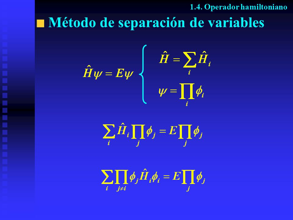 Método de separación de variables