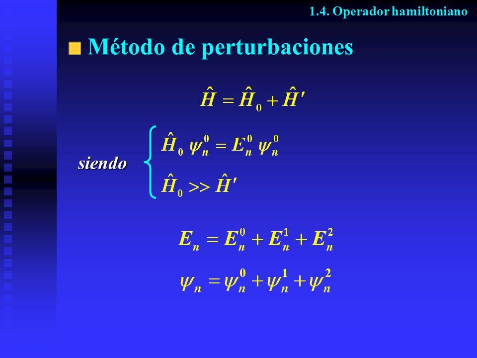 Método de perturbaciones