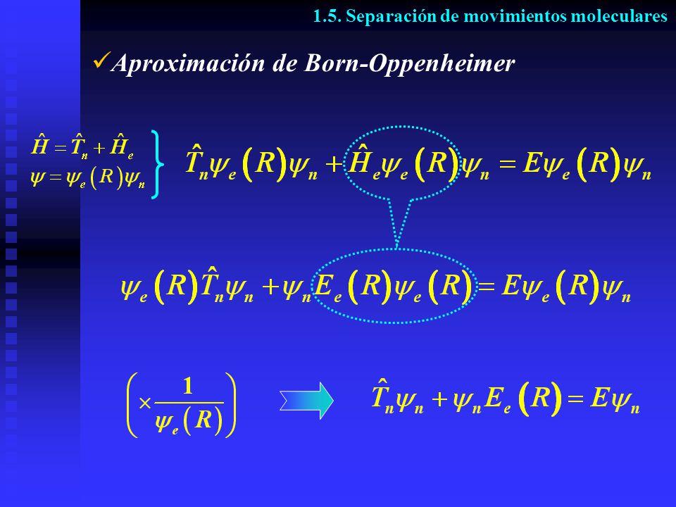 Aproximación de Born-Oppenheimer
