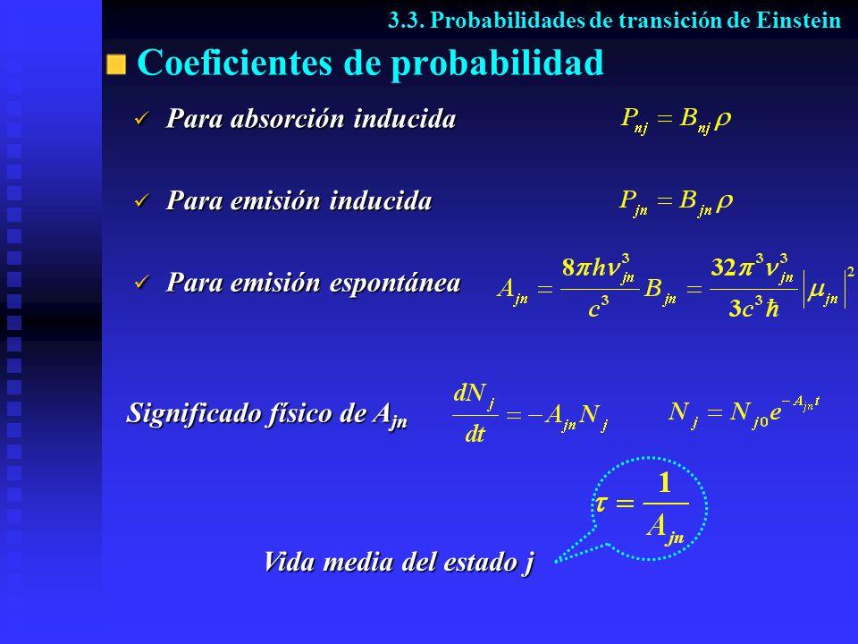 Coeficientes de probabilidad