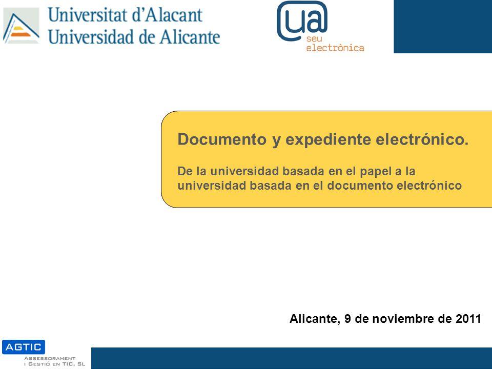 Documento y expediente electrónico.