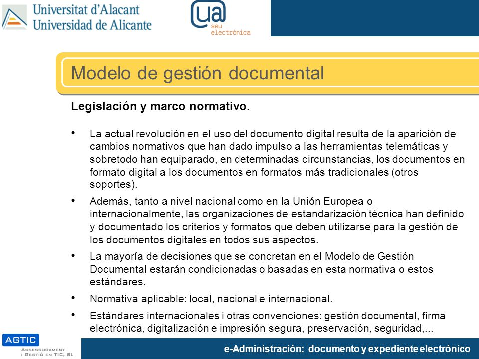 Modelo de gestión documental