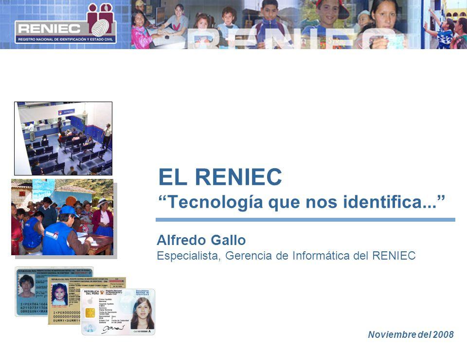 EL RENIEC Tecnología que nos identifica...