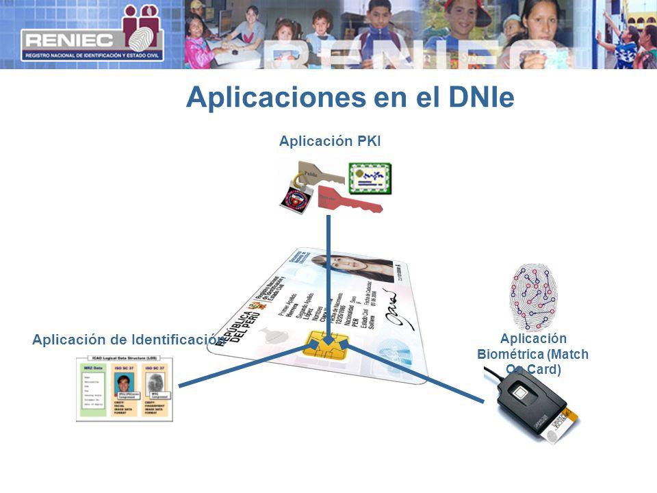 Aplicaciones en el DNIe