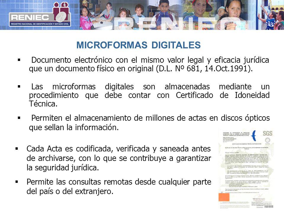 MICROFORMAS DIGITALES