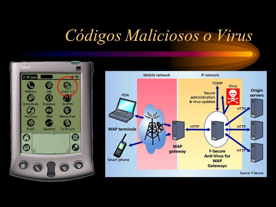 Códigos Maliciosos o Virus